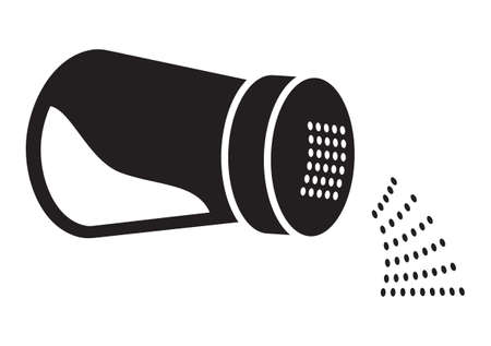 Salt vector icon