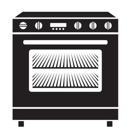 stove: Stove vector icon