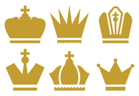 nobleman: Crown icons collection