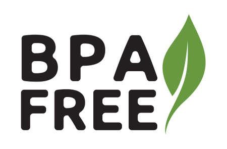 vector graphic: BPA free