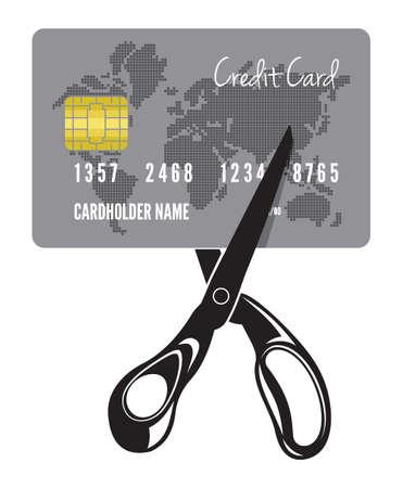 valid: Credit card not valid vector illustration Illustration