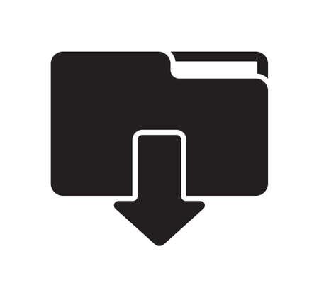 Download folder icon Illustration