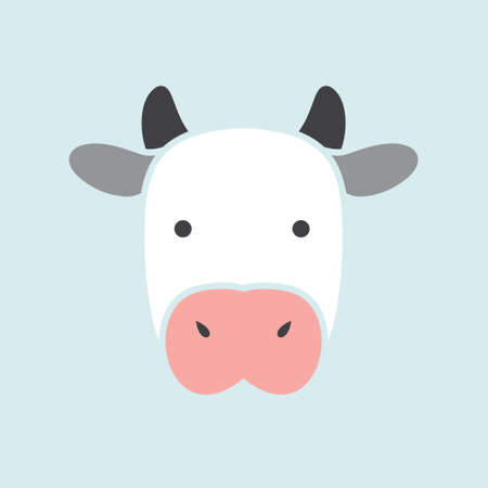 Cow vector icon