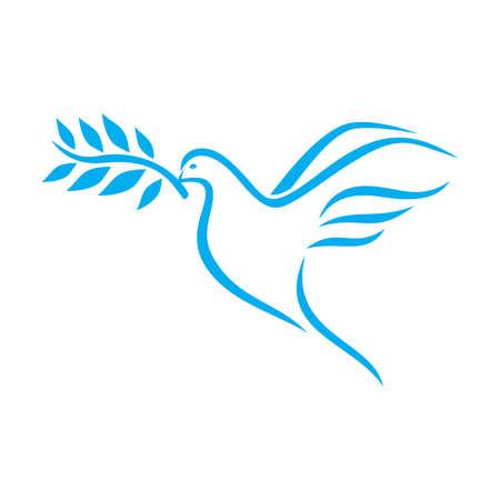 Colombe de la paix Banque d'images - 47612673