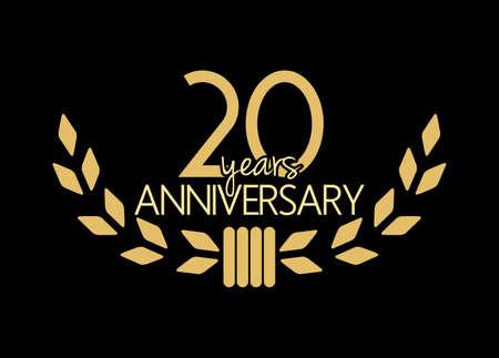 aniversario: 20 años de aniversario