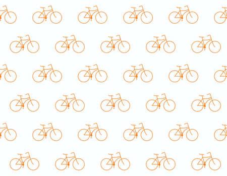 retro: Retro bike pattern