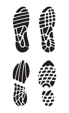 running shoe: Imprint soles shoes - sneakers