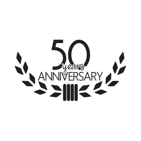 50: 50 years anniversary