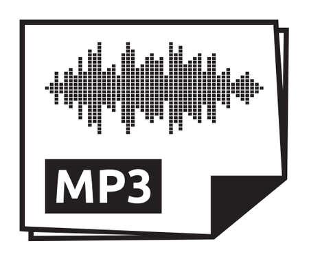 mp3: Mp3 vector icon
