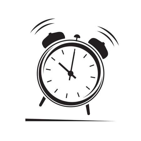 Alarm clock icon  イラスト・ベクター素材