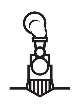 Train vecteur icône Banque d'images - 59123060