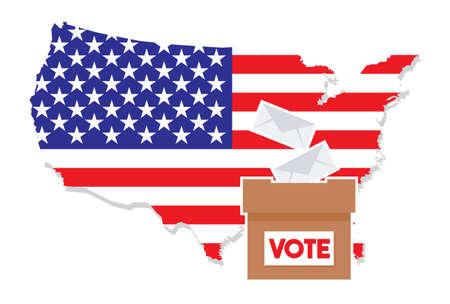 senate: United States of America Elections Illustration