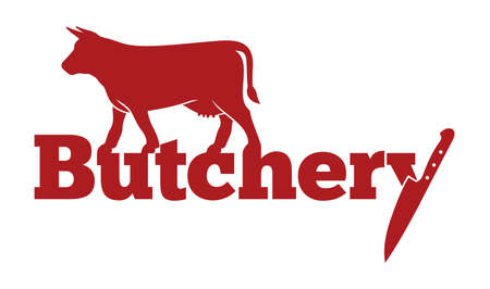 carnicer�a: Carnicer�a del icono del vector Vectores