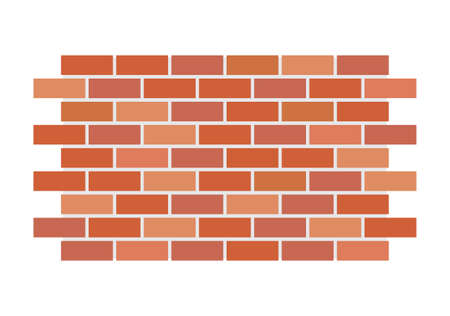 bricks background: Vector brick wall