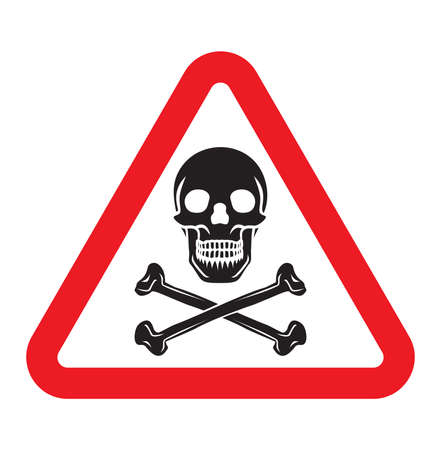 danger sign: danger sign Illustration