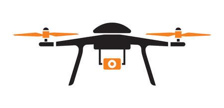 Icona drone Archivio Fotografico - 59126303