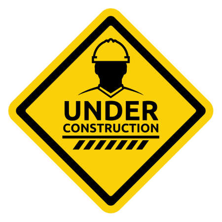 reconstruction: Under construction sign