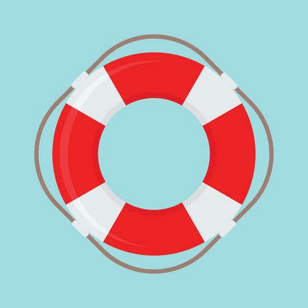 buoy: Life Buoy vector icon