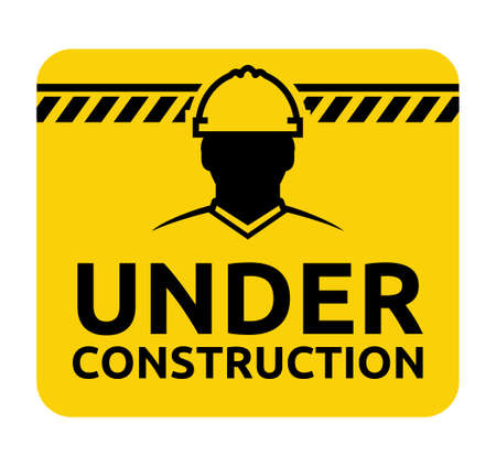 under construction road sign: under construction road sign