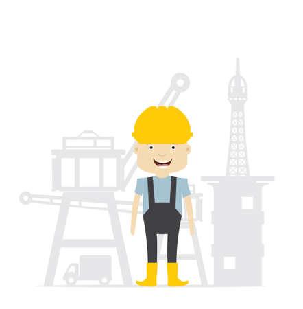 jobs people: Construction worker - engineer
