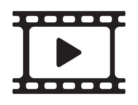 de vídeo juego icono - icono del reproductor de películas