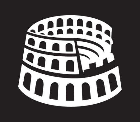 colosseum: Rome colosseum icon
