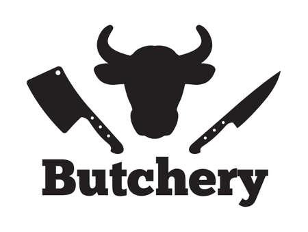 Butchery vector icon