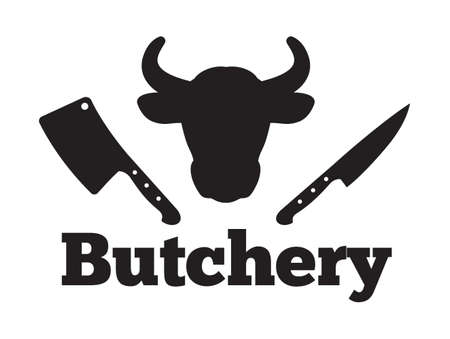 Butchery vector icon