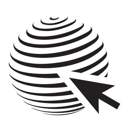 Web vector icon