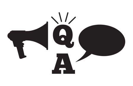 answers concept: Q And A - Questions And Answers concept