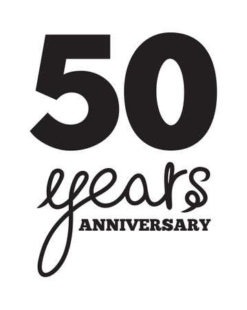 50 years: 50 years anniversary