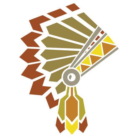 indian headdress: american indian avatar