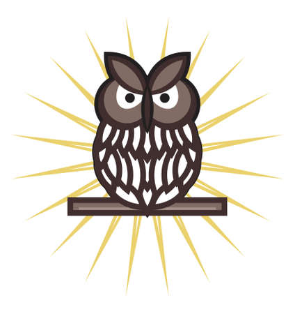 owl illustration: Owl vector illustration Illustration
