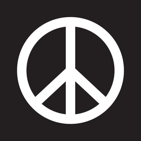 pacifist: Peace vector icon