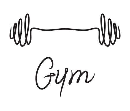 gym vector symbol