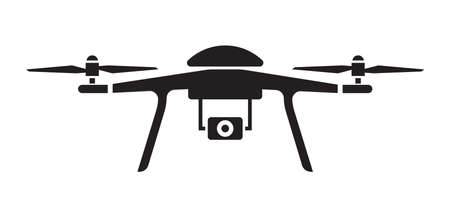 Drone Symbol Illustration