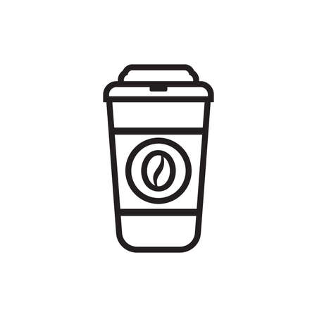 take away: Coffee Icon - Coffee to go vector icon Illustration