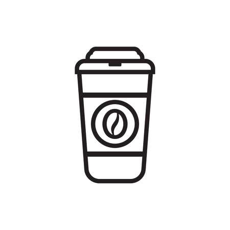 Coffee Icon - Coffee to go Vektor-Symbol