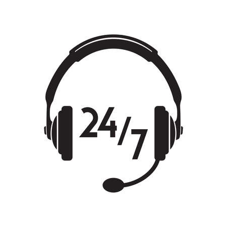 icon phone: call center icon 247
