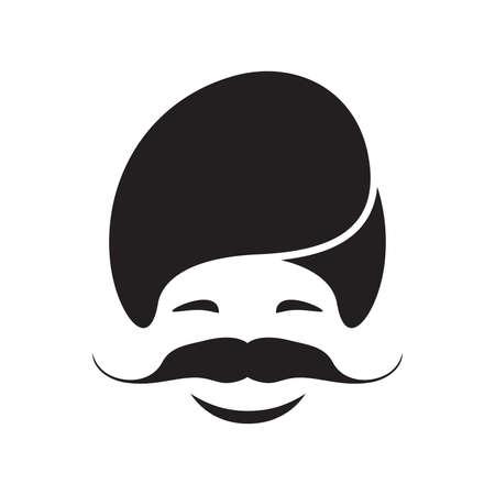 sikh: Sikh vector icon