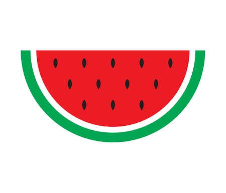 summer diet: watermelon flat icon