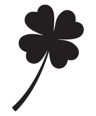 luckiness: Four leaf clover