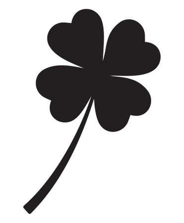 four leafs clover: Four leaf clover