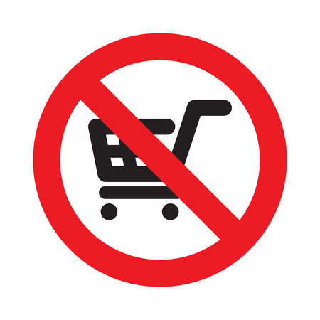 no shopping carts allowed