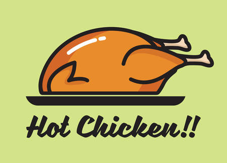 spit: Roasted chicken icon