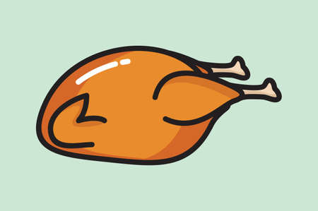 crisp: Roasted chicken icon