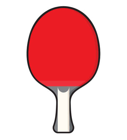 exercise equipment: Table tennis - ping pong racket