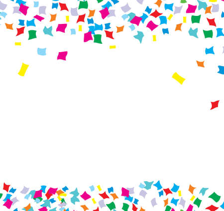 Vector Confetti background Stock Illustratie