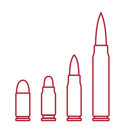 Bullets vector icons Stock Illustratie