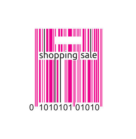 Shopping sale bar code label